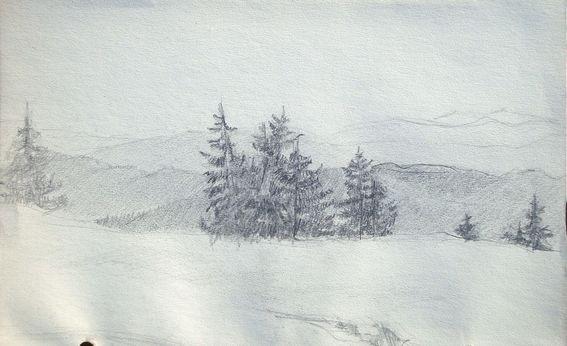 Paysage De Montagne Au Printemps