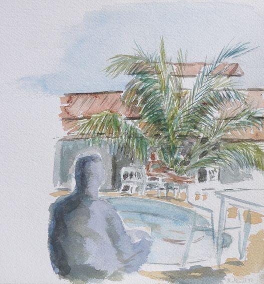Paysage architecture for Aquarelle piscine hotel seneffe